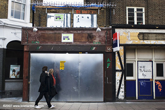 In 2005, a small café in the East End of London was due to be demolished to make way for a block of flats. On the eve of the demolition, a handful of local residents occupied the café to stop the demolition. Emily James started filming on the first day of the protest, following them through the long cold winter of their occupation.
